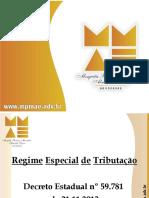 Regime Especial Tributacao ICMS 101220133