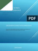 DEGENERACIONES TAPETORRETINIANAS 1