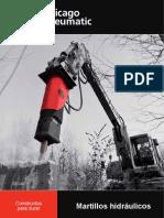 Brochure Martillos Hidráulicos - Chicago Pneumatic - Construidos para Durar (1.pdf