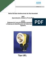 Manual Lampara Elevada UEL (AM02.630S)