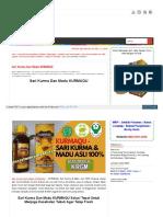 Sari Kurma Dan Madu KURMAQU 100% Original