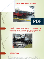 Peligro Accidentes de Transito