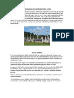 Economia Del Cuzco - Economia 2018