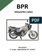 Cover Bpr Megapro Lama