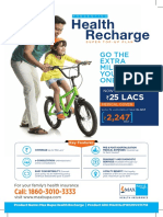 Health Recharge - Single Sheeter