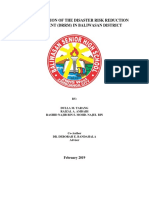 IMPLEMENTATION OF THE DISASTER RISK REDUCTION MANAGEMENT IN BALIWASAN DISTRICT