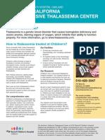 Thalassemia Brochure