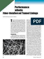 Going underground fiber reinforced