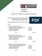 Actividad_12 Metodos de Valuacion