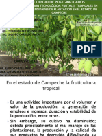 Frutales Densidad PODAS Caso Campeche