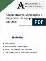 Capacitacion Aseguramiento Metrológico e Inspección 2019-02-28
