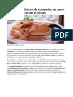 La Cocina Tradicional de Campeche