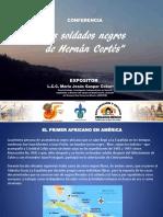 Conferencia de Los Soldados Negros de Cortés