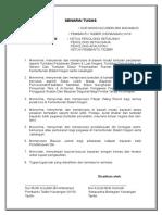 Format Surat Pengesahan Majikan