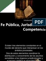 FE PÚBLICA, JURISDICCION Y COMPETENCIA.pptx