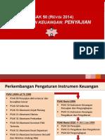 PSAK 50 Instrumen Keuangan Penyajian 26102015