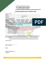Alumni Acknowledgement Receipt Copy