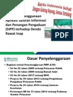 MATERI APLIKASI SIPP DALAM MENJALANKAN FUNGSI PIPP RS.pptx