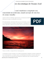 Os 8 Pontos-chave Da Estratégia Do Oceano Azul - Blog Do Agendor