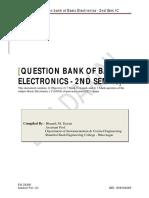 Question Bank_basic Electronics