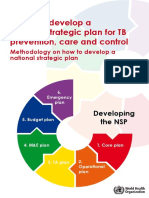 National Strategic Plan Tb