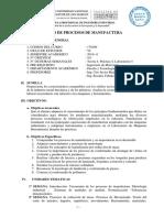 Procesos de Manufactura 2019-0