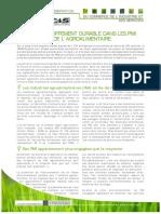 Fiches Sectorielles Fev2009 Developpement Durable Dans Les Pmi Agroalimentaire