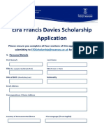 EFD Scholarship Application 2018.docx