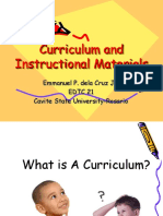 Curriculum and Instructional Materials 2[1]