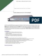 PL 300 _ Multiplexeur C_DWM Passif Évolutif de 4 à 32 Ports