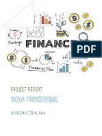 Soya Processing Sample Project Report