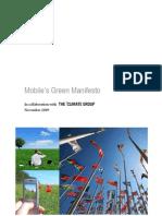 Mobiles Green Manifesto 11 09