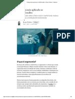 A Ergonomia Aplicada Ao Violão Erudito – Bruno Polidoro – Medium