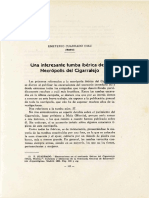 CUADRADO DIAZ, E. 1952 - Una interesante tumba ibérica de la Necrópolis del Cigarralejo.pdf