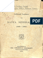 Collected Lectures on Shaiva Siddhanta-1946-1954