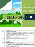 Planeacion de marzo - 6to Grado 2018-2019 (1).docx