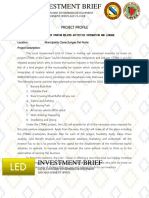 Investment Oppurtnity Brief