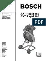 Broyeur Bosch AXT Rapid