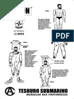 Manual Falcon Tesouro Submarino