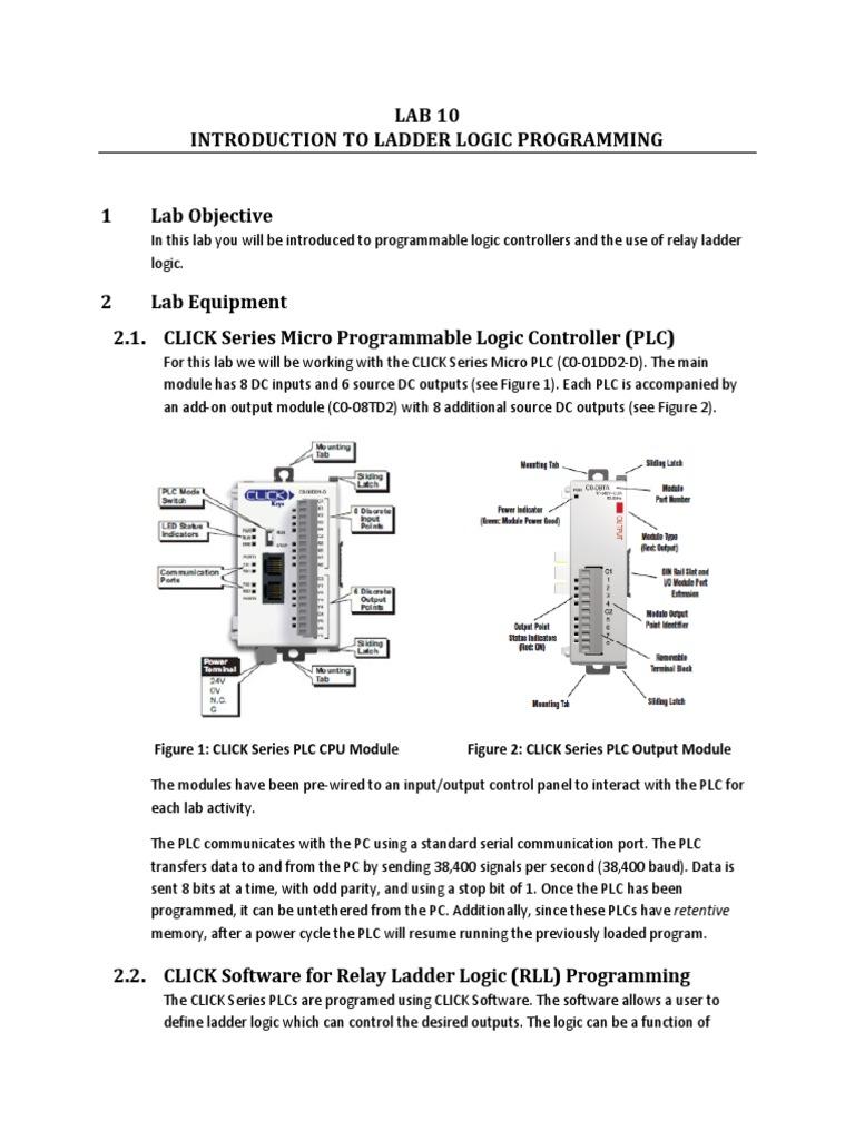 Traffic Light Plc Ladder Logic Diagram