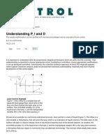 Understanding PID control