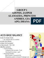 Acid Balance Group 1