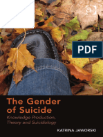JAWORSKI, K., The gender of suicide, Ashgate, 2014.pdf