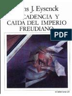 Decadencia y Caída Del Imperio Freudiano