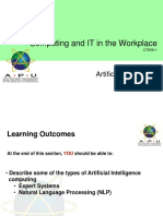12 c It w Artificial Intelligence