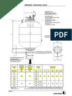 Agrichema Massblatt SB-2 DN100