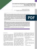 Epidemiological Study of Facial Fractures at the Oral and Maxillofacial