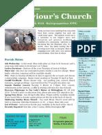 st saviours newsletter - 3 march 2019