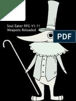 Soul Eater RPG - Weapons Reloaded V1.11