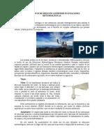 Instrumentos de Medición en Estaciones Meteorológicas